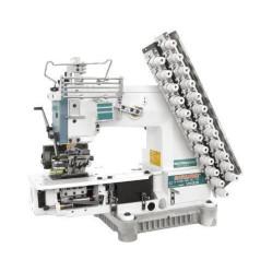 Siruba VС008-06048P/VPL/LSA/P Шестиигольная лампасная машина с цилиндрической платформой  width=