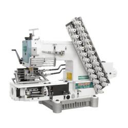 Siruba VC008-12064P/VSM двенадцатиигольная машина цепного стежка для выполнения декоративных строчек width=