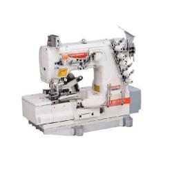 Siruba F007K-W222-240/FQ плоскошовная четырехниточная швейная машина с окантователем width=