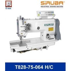Siruba Т828-75-064H/С Двухигольная машина челночного стежка с автоматикой