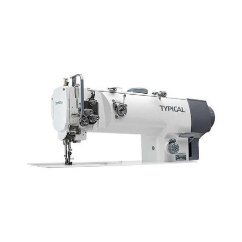 Одноигольная промышленная швейная машина с тройным транспортом Typical GC20665L14D