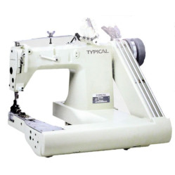 Typical GK398 трёхигольная машина цепного стежка с П-образной платформой width=