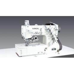 Typical GK32500-1356D трехигольная пятиниточная плоскошовная машина (распошивалка) с прямым приводом width=