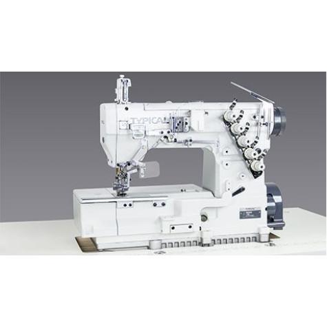 Трехигольная пятиниточная плоскошовная машина Typical GК335D-1356