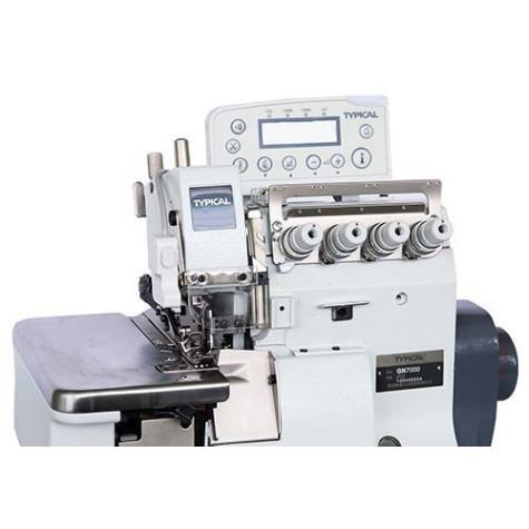 Typical GN7000-5/D3 промышленный двухигольный пятиниточный оверлок с автоматикой