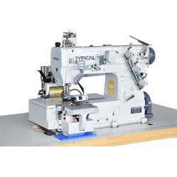Typical GK335-0256/12 двухигольная трёхниточная шлёвочная машина (распошивалка) width=