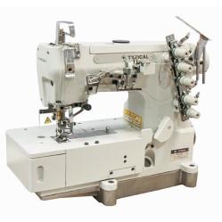 Typical GK1500D-01 трёхигольная пятиниточная плоскошовная машина (распошивалка)