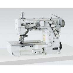 Typical GK335-1356-1 трехигольная пятиниточная плоскошовная машина (распошивалка) с обрезкой края width=