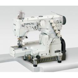 Typical GK337-1356 трёхигольная пятиниточная плоскошовная машина (распошивалка)