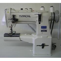 Typical TW3-28BL двухигольная рукавная машина с тройным транспортом width=