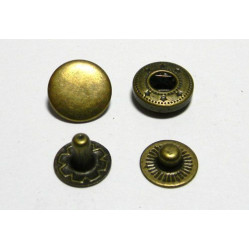 Кнопка L-12 цв антик сталь 12,5мм (уп 144шт) №54 МН 0300-7000 width=