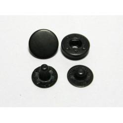 Кнопка L-12 цв оксид сталь 12,5мм (уп 720шт) HKS width=