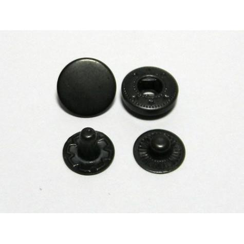 Кнопка L-12 цв оксид сталь 12,5мм (уп 720шт) HKS