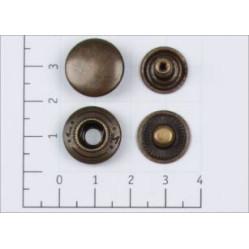 Кнопка L-15 цв антик сталь 15мм (уп 720шт) К-03 width=