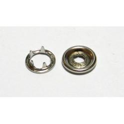 Кнопка с шипами д/детск одежды 9,5 мм цв никель (уп. 144шт) МН width=