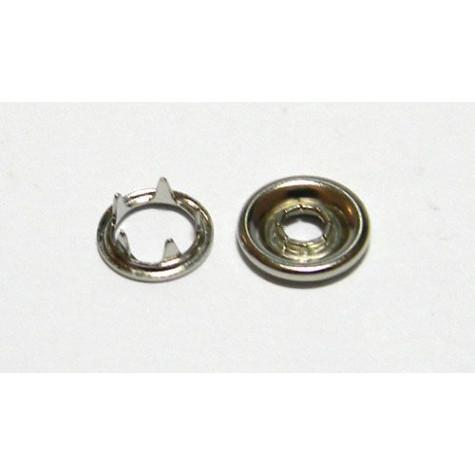 Кнопка с шипами д/детск одежды 9,5 мм цв никель (уп. 144шт) МН