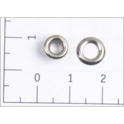 Люверсы стальные №01,7 цв никель 3мм (уп ок.5000шт) width=