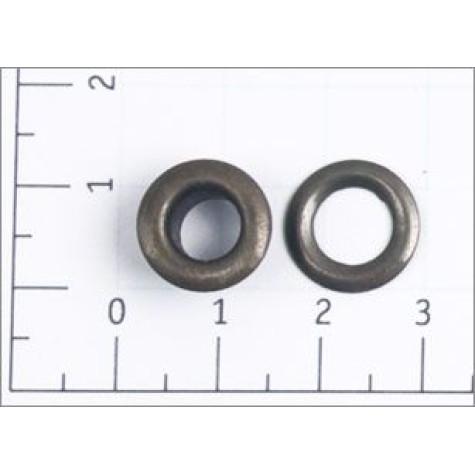 Люверсы стальные №4 цв антик 6мм (уп 1000,5000шт)
