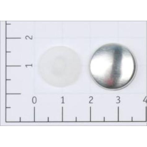 Заготовка №26 (16мм) ножка - пластик цв белый (уп 500,1000шт)