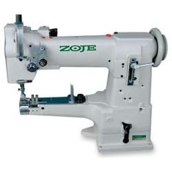 Zoje ZJ335 Одноигольная машина челночного стежка с рукавной платформой под окантовку width=