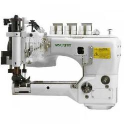 ZOJE ZJ-35800 DNU трёхигольная шестиниточная швейная машина с П–образной платформой width=