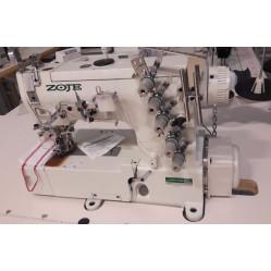 Zoje ZJ-W562A-1-356-BD-D3B Трехигольная пятиниточная плоскошовная машина цепного стежка
