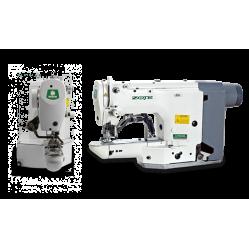 Zoje ZJ1850H-BD закрепочный полуавтомат с прямым приводом для средних и тяжелых материалов