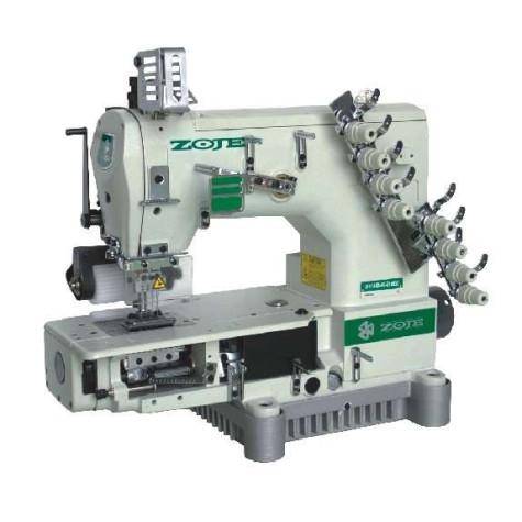 Поясная четырехигольная швейная машина с цилиндрической платформой Zoje ZJ1414-100-403-601-609-04064/254
