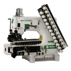 Zoje ZJ1414-100-403-601-613-12064 Двенадцатиигольная машина с цилиндрической платформой двухниточного цепного стежка  width=